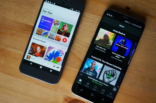 """Apple sẽ soán """"ngôi vua"""" của Spotify tại thị trường âm nhạc Mỹ?"""