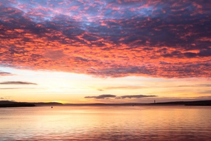 Biển Bắc gần quần đảo Orkney
