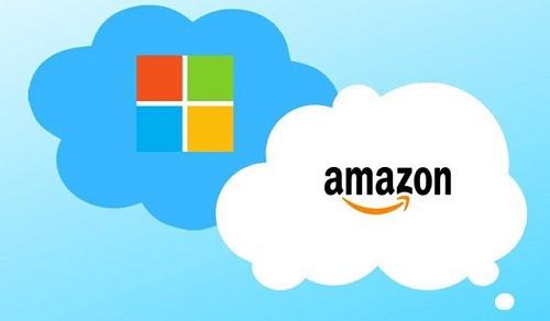 cloud microsoft amazon