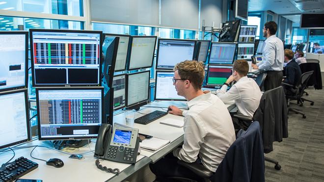 Phòng làm việc của Intercontinental Exchange   Ảnh: ICE