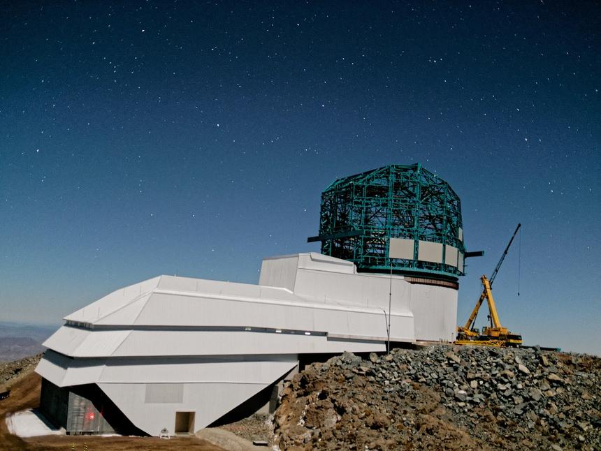nhà kính thiên văn