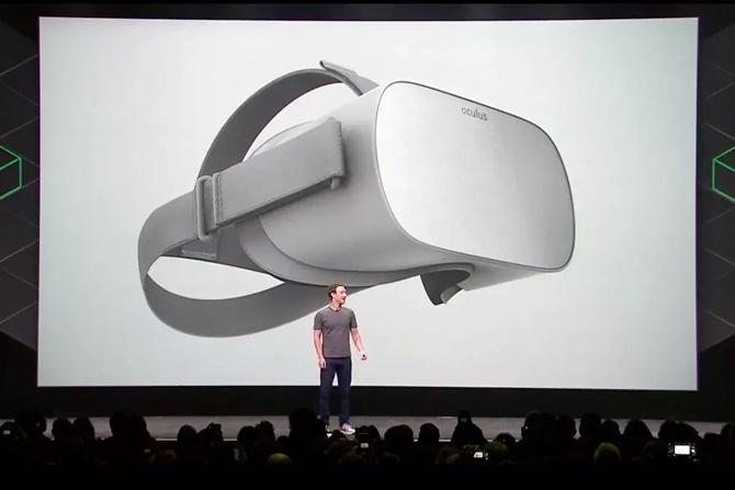 Facebook giới thiệu kính VR Oculus Go với giá 199 USD, hoạt động không cần điện thoại hoặc PC