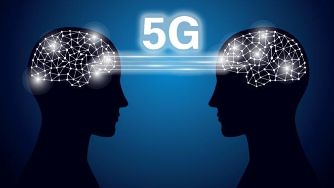 Sự phát triển của 5G cũng giúp cho xu hướng sử dụng AI trở nên phổ biến hơn  Ảnh: AFP