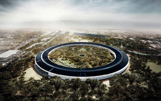 trụ sở apple