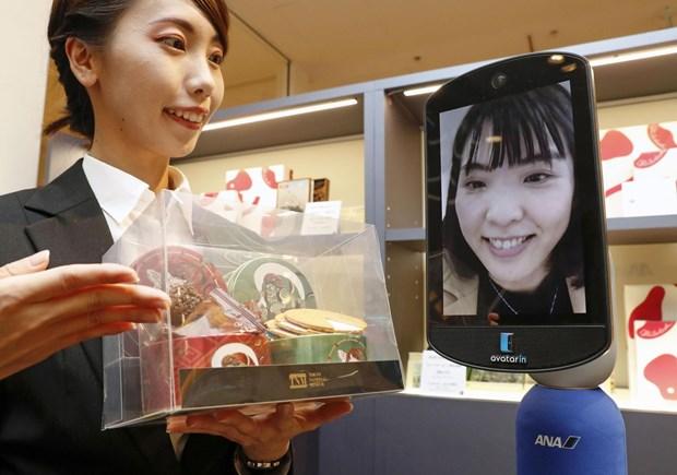 cửa hàng robot