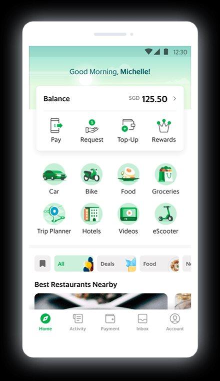 Grab là siêu ứng dụng của Singapore