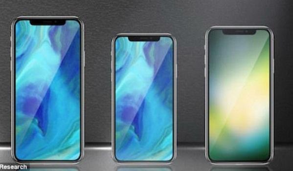 Apple sẽ ra ba smartphone với kích thước lớn trong năm nay.