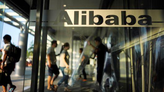 Alibaba tại trụ sở Hàng Châu, tỉnh Chiết Giang, Trung Quốc. Ảnh: Reuters.