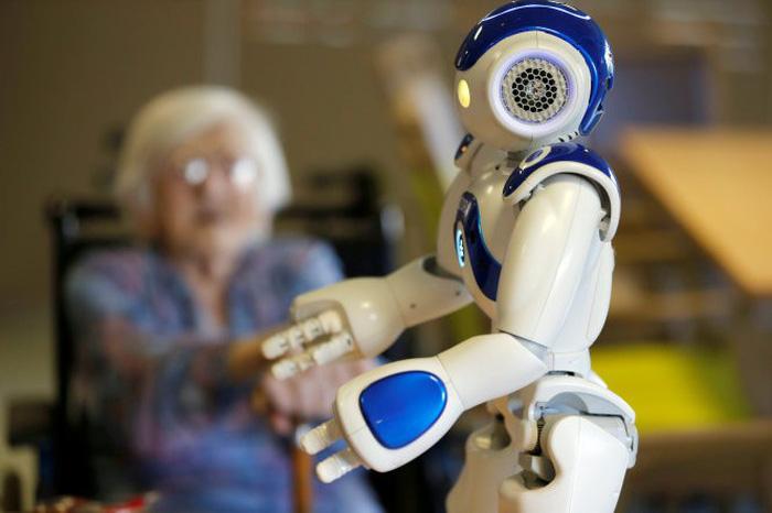 trao quyền robot