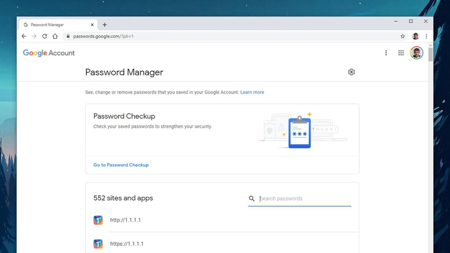 cách lưu trữ mật khẩu