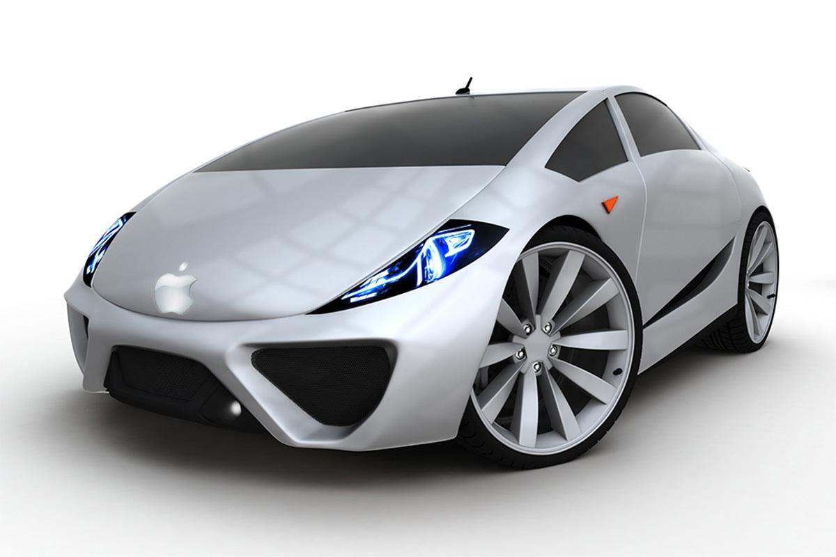 Một concept xe của Táo khuyết