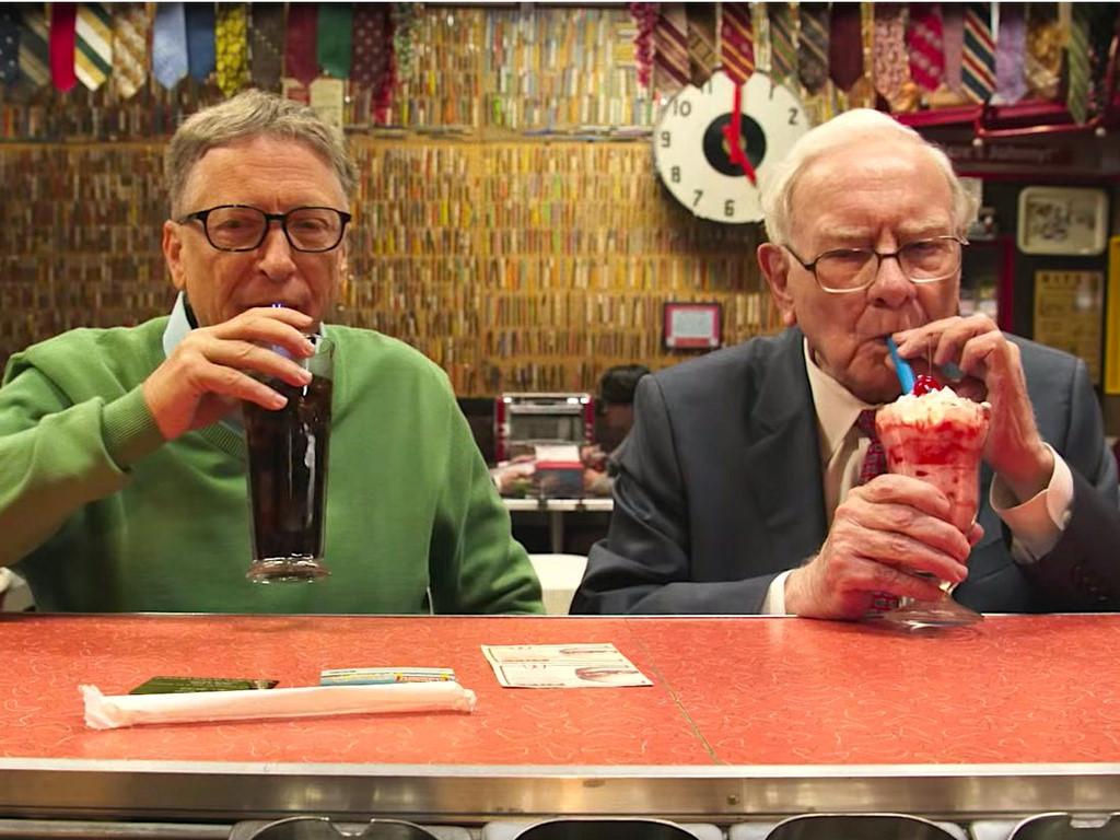 bill and buffett