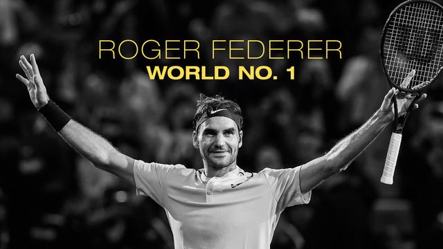 Huyền thoại quần vợt Roger Federer.