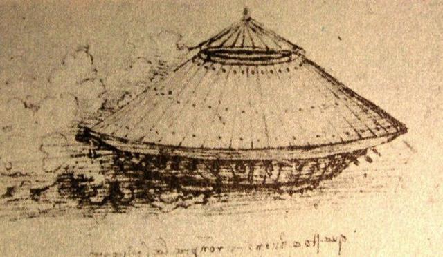 Nguyên mẫu 'xe tăng' từ cuối thế kỷ 15 hoặc 16 của Da Vinci. Nguồn: Sciencealert