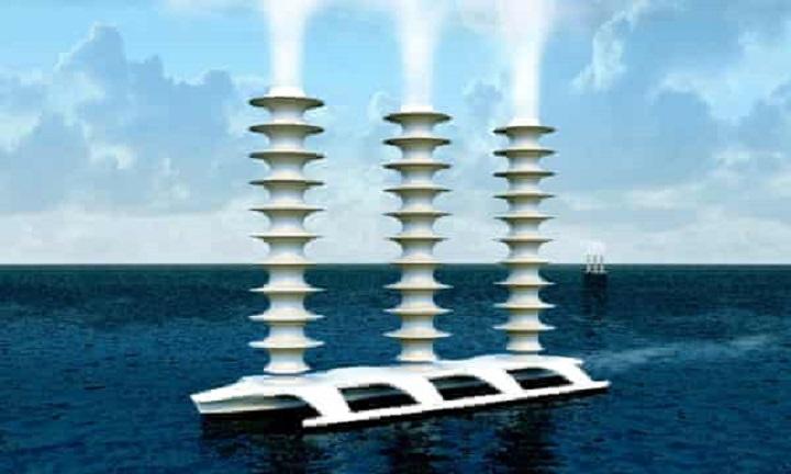 phun nước biển