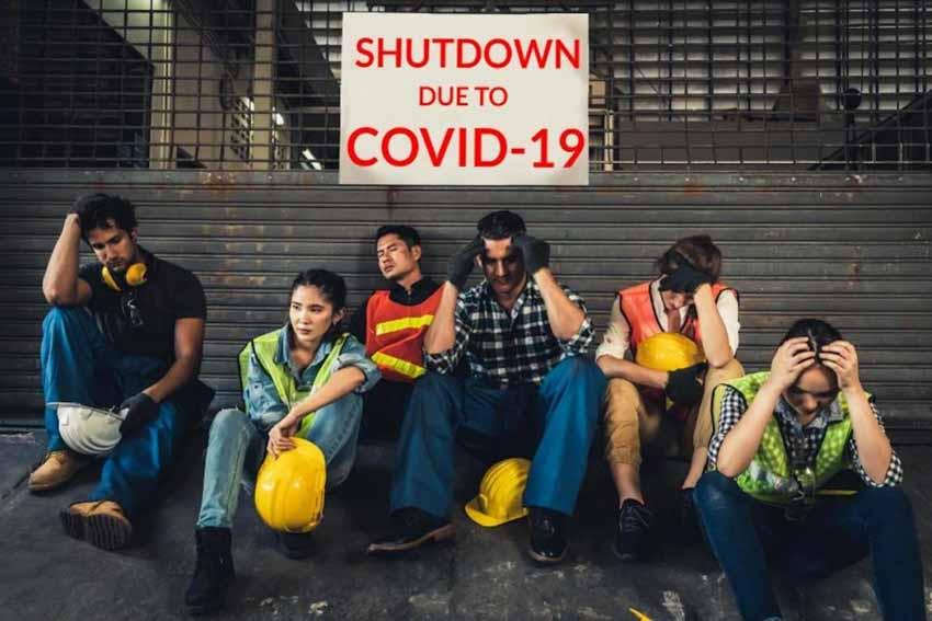 shutdown due to covid