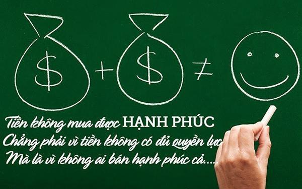 tiền và hạnh phúc