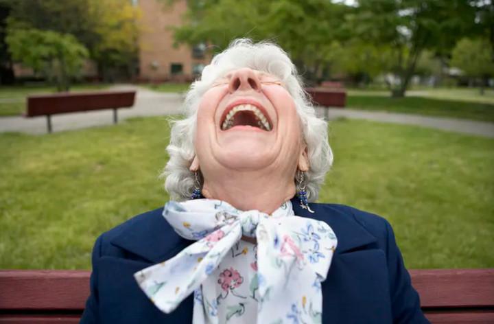 tiếng cười rất tốt cho cơ thể