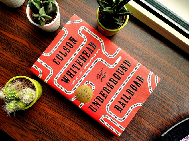 The Underground Railroad được Amazon chọn là cuốn sách hay nhất năm 2016.