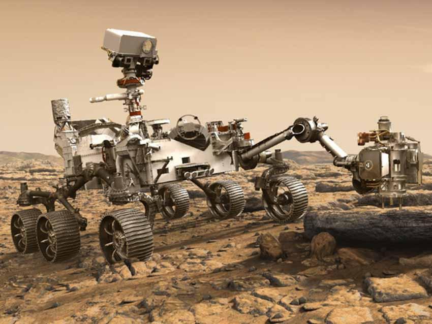 xe tự hành trên sao hỏa
