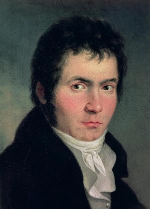 Chân dung nhà soạn nhạc Beethoven thời trẻ
