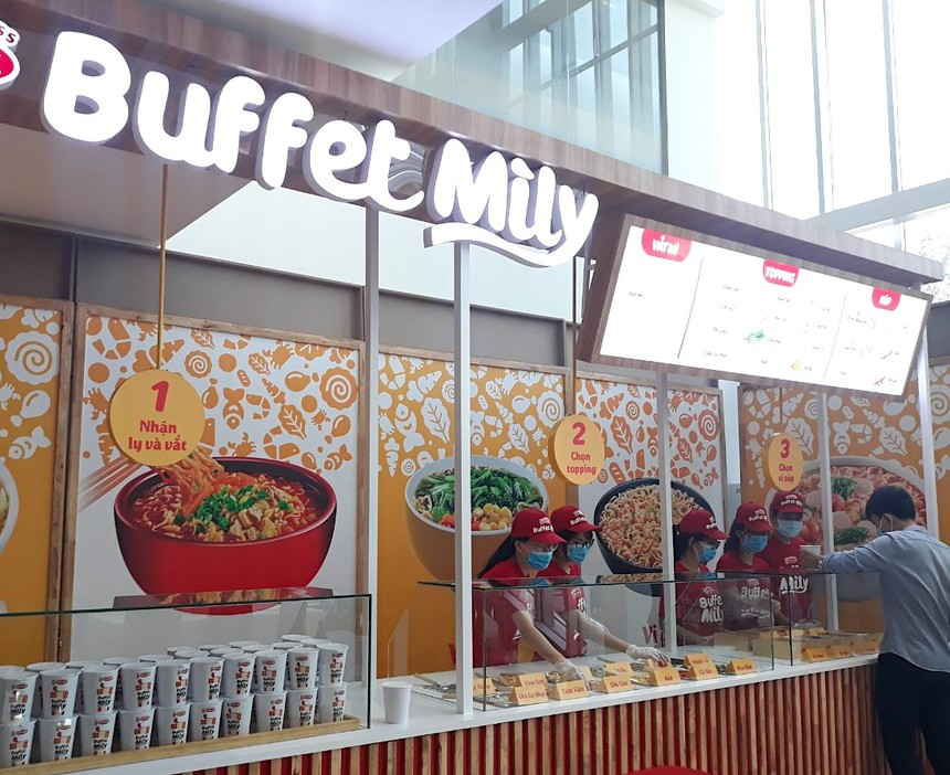 buffet mìly