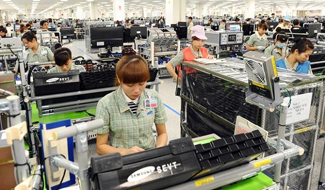 Linh kiện điện tử là lĩnh vực có nhiều cơ hội tăng xuất khẩu. ẢNH: BÌNH MINH