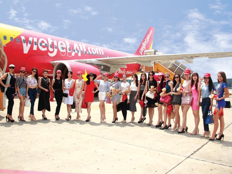 Hãng hàng không VietJet đang có tham vọng vươn ra chinh phục thị trường quốc tế.