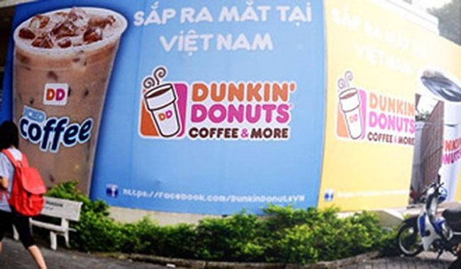 dunkin donut entry mode