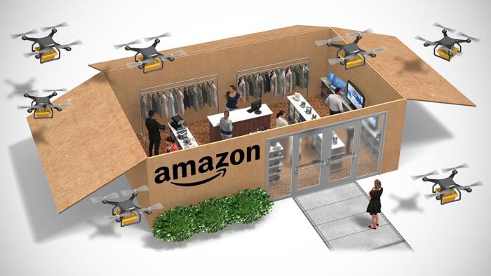 Amazon khuấy đảo nhiều thị trường