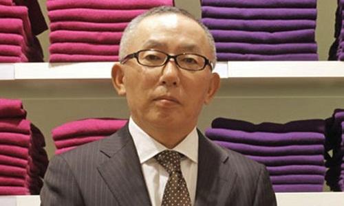 Tỷ phú Tadashi Yanai đang sở hữu khối tài sản ước tính lên tới 22,3 tỷ USD.