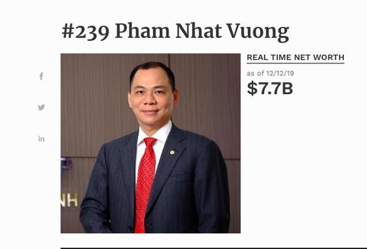 pham nhat vuong net worth