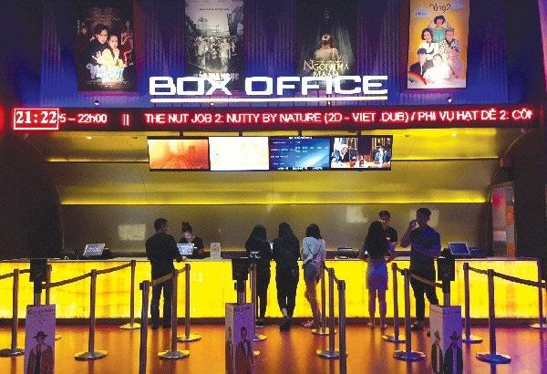 Ngành công nghiệp chiếu phim có rất nhiều dư địa để phát triển trong thập kỷ tới. Ảnh: Quốc Hùng
