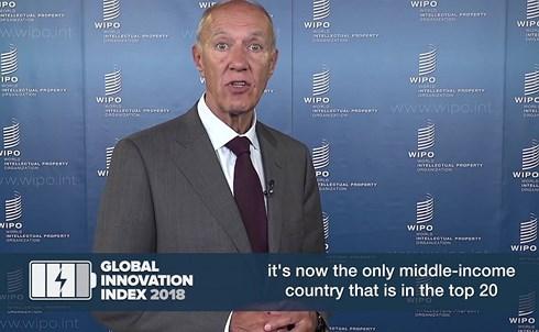Ông Sacha Wunsch- Wincent, chuyên gia cao cấp của WIPO. (Ảnh: WIPO).