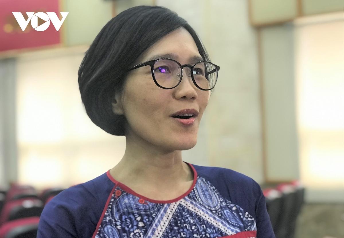 Bà Trần Thị Lan Hương, chuyên gia quản trị công cao cấp của Ngân hàng Thế giới (WB)