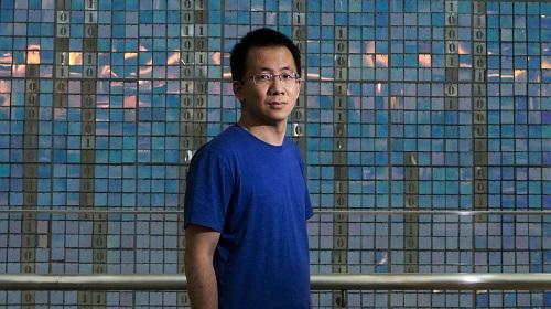 Zhang Yiming, người sáng lập và CEO của ByteDance, công ty mẹ của TikTok.