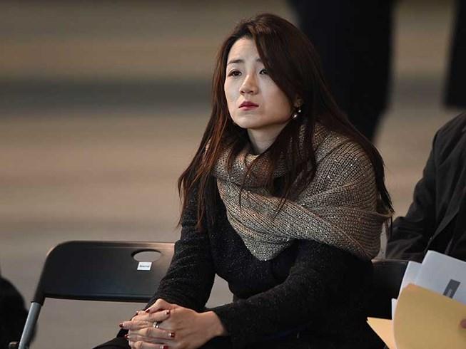 Cô Cho Hyun-min đã trở về Hàn Quốc ngày 15-4.  Ảnh: KOREAN HERALD
