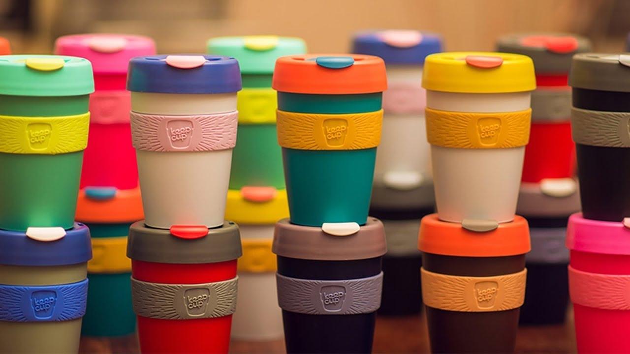 Các sản phẩm của KeepCup có màu sắc bắt mắt, cuốn hút và bền. Ảnh: KeepCup