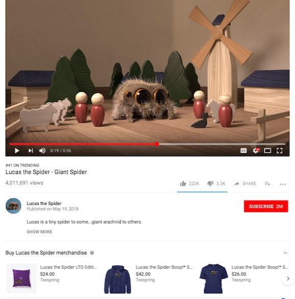 video youtube liên kết mua sắm