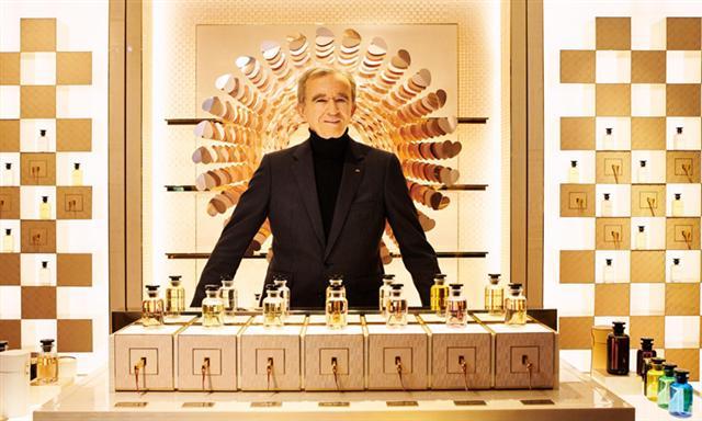 Ông trùm ngành hàng xa xỉ Bernault Arnault. Ảnh: Forbes.