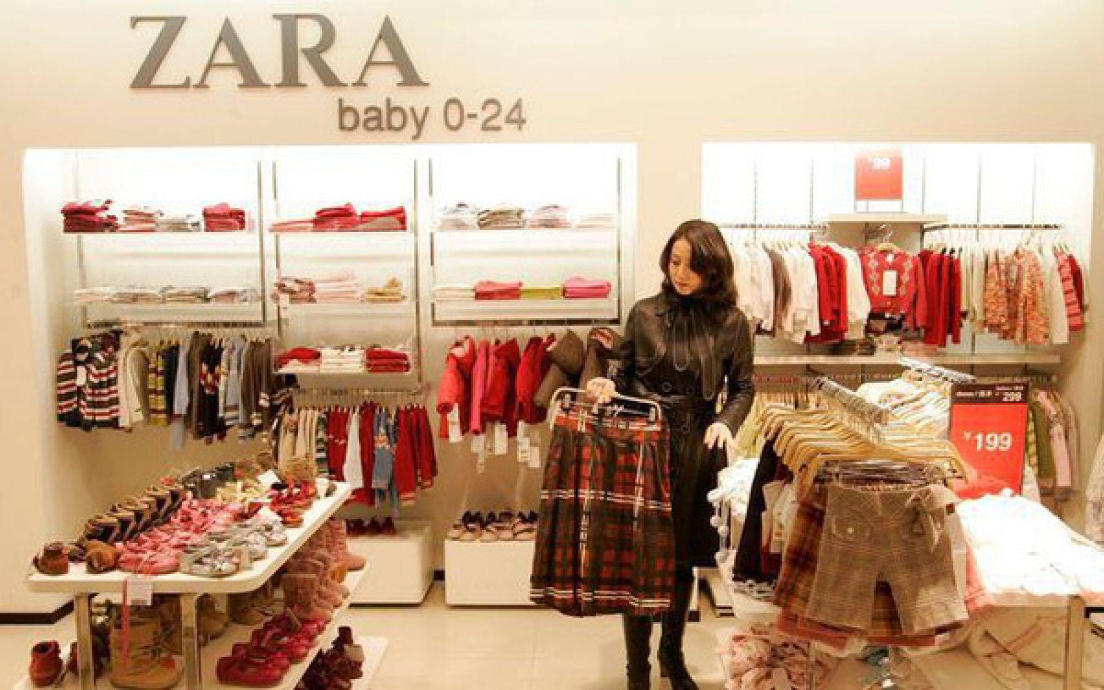 Bí mật thành công của Zara