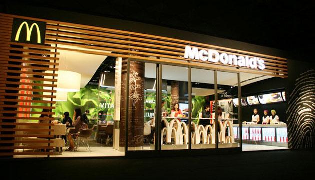 mcdonald service concept