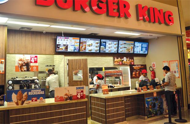 Một cửa hàng nhượng quyền của Burger King.