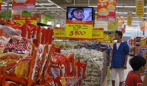chiết khấu siêu thị