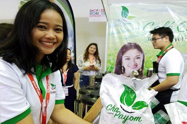 Nhiều thương hiệu khu vực đã vào Việt Nam trong thời gian qua. Trong hình là một thương hiệu trà sữa của Thái Lan vừa được franchisee đưa về Việt Nam. Ảnh: Minh Tâm