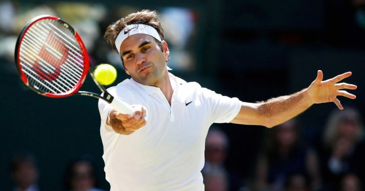 Tay vợt xuất sắc nhất thế giới Roger Federer. Ảnh: Paul Childs, Reuters