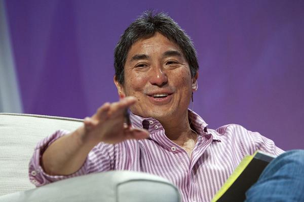 Guy Kawasaki từng làm việc nhiều năm với Steve Jobs