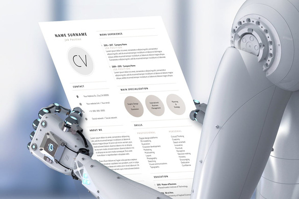 robot tuyển dụng