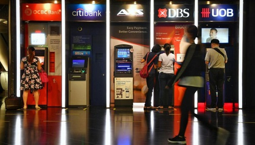 nền tảng số ngân hàng singapore