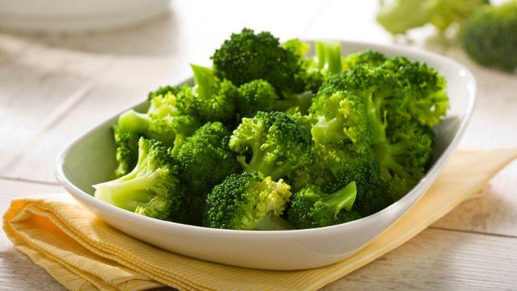 cách hấp bông cải xanh